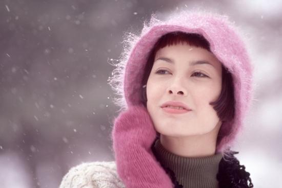 Зима влияет на женскую внешность