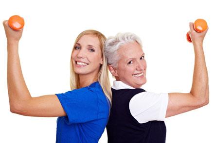 Фитнес во время менопаузы