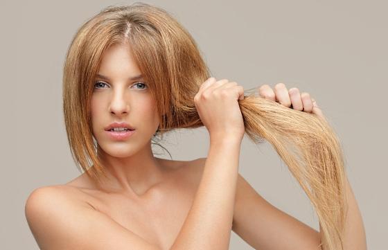 Сухие волосы летом – как им помочь