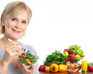 Что бы чувствовать себя при климаксе в норме нужно правильно питаться