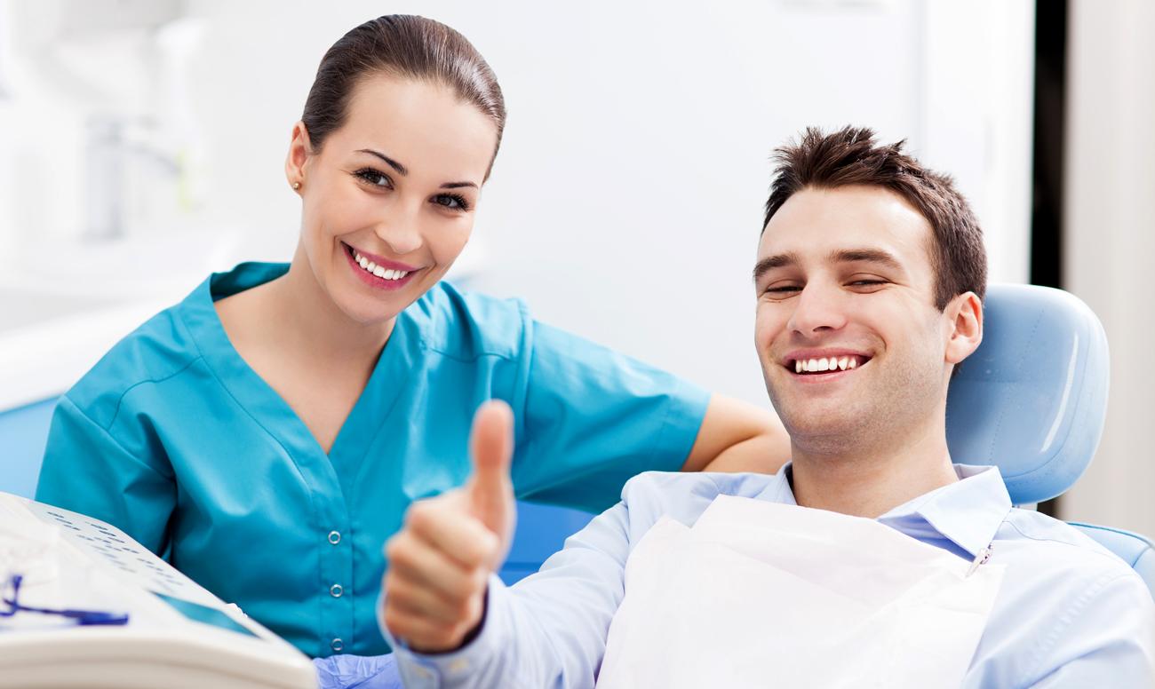 Здоровая и белоснежная улыбка