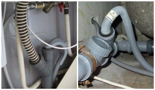 Установка бачка на унитаз и подключение стиральной с посудомоечной машиной к канализации