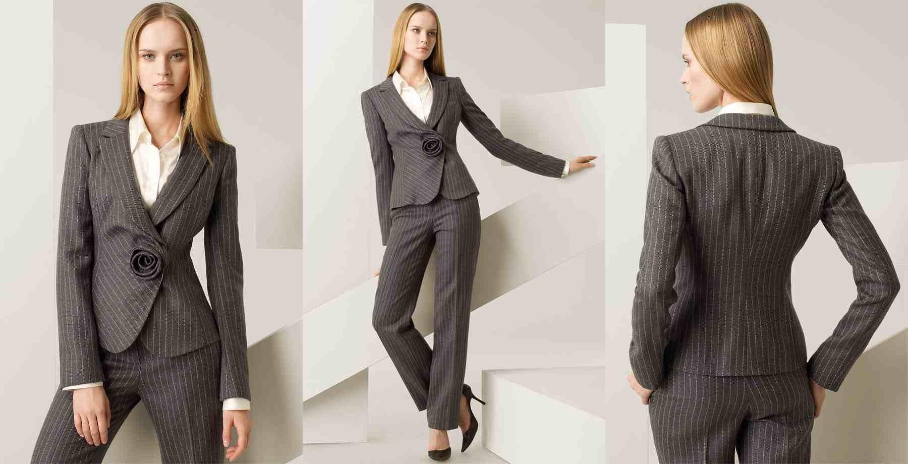 Тренд офисной моды – дамский костюм