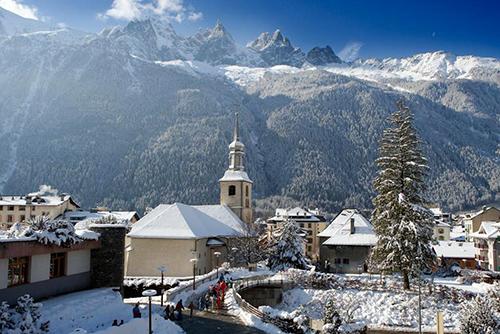 Отдых во Франции зимой