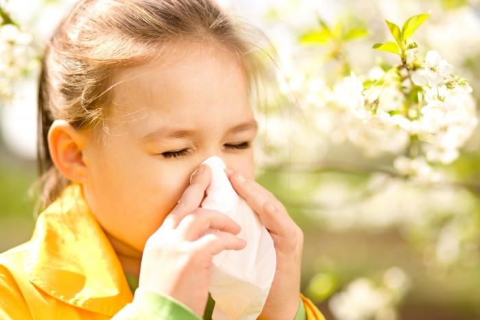 Дети с глистами редко страдают от аллергии.