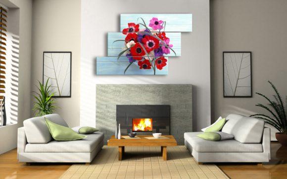 Картины в интерьере дома