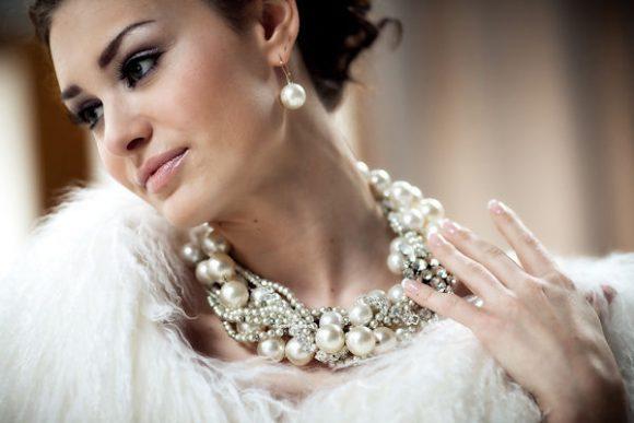 Восхитительные свадебные украшения для невесты