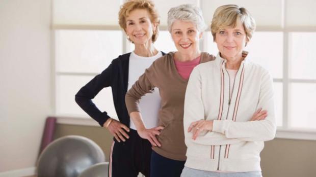 Фитнес может облегчить симптомы менопаузы