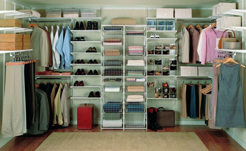 Гардеробная в гардеробной