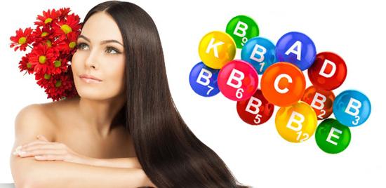 Витамины и микроэлементы для кожи, волос и ногтей