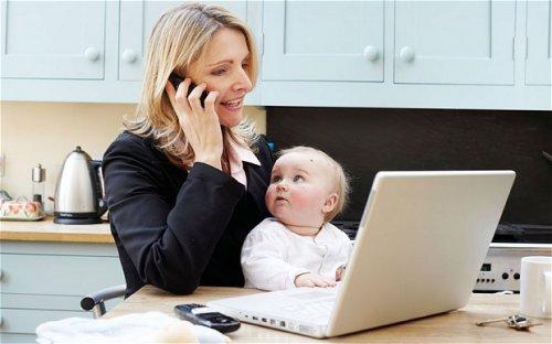После родов нельзя спешить с возвращением на работу