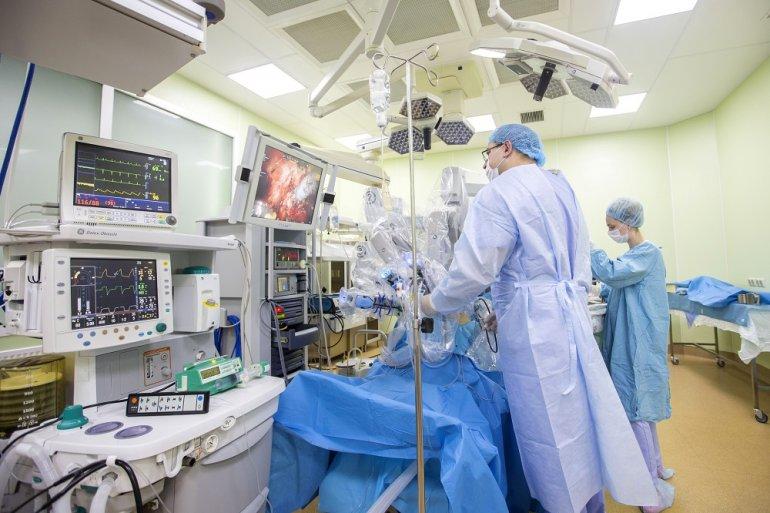 Лечения рака простаты с помощью робота Да Винчи