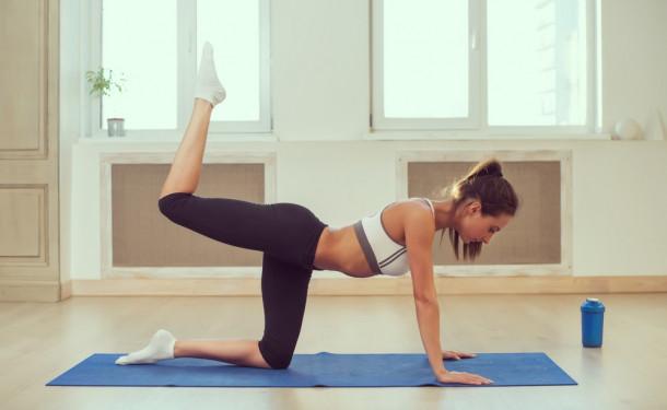 Комплекс очистительной йоги для женских органов