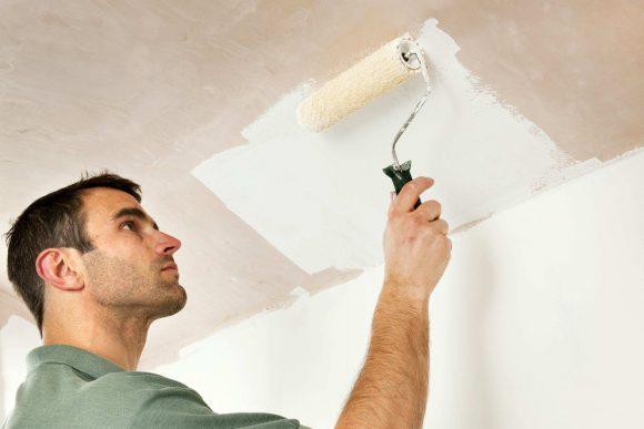 Как покрасить потолок самостоятельно?