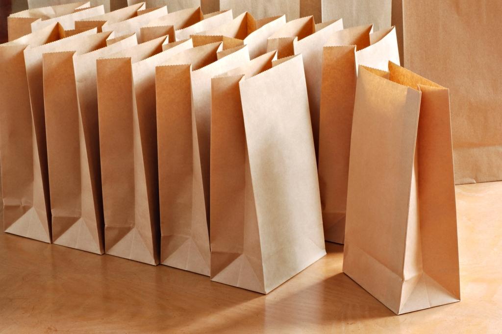 Свойства пакетов из крафт-бумаги