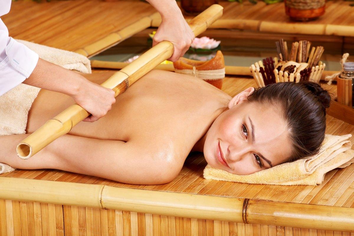 Креольский массаж бамбуковыми палочками