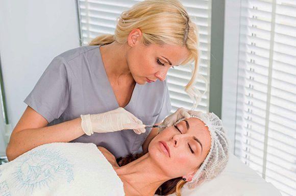 Применение ботулотоксина в косметологии