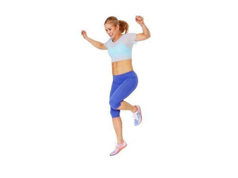 После климакса женщинам нужно прыгать на одной ноге