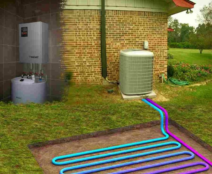 Теплове насосы как альтернативное решения для отопления