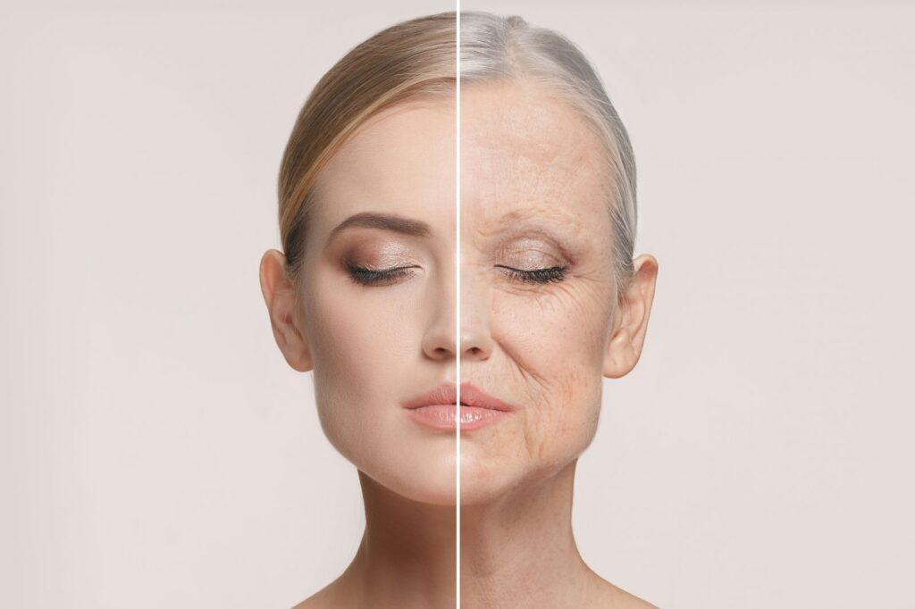 Эти признаки указывают на преждевременное старение