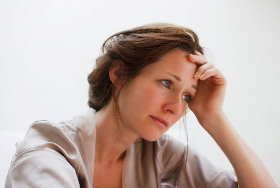 Депрессия приводит к раннему климаксу