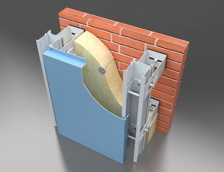 Навесные вентилируемые фасадные системы
