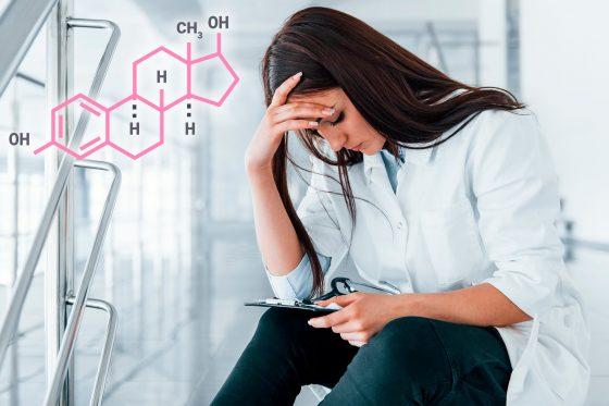 Медики объяснили, на что влияют женские гормоны эстроген и прогестерон